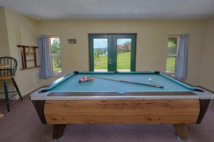 Pool Table 2 Bedroom Cabin on the Lake - Ivey's Cove