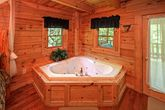 Jacuzzi Tub in Honey Moon Cabin
