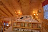 King bed with bath in Loft bedroom