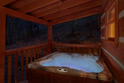 2 Bedroom cabin with Private Hot Tub - Just Barely Making It
