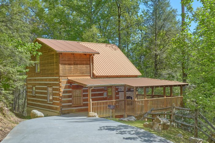 Kicked Back Creekside Cabin Rental Photo