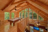 Wears Valley private cabin with pool table