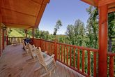 Premium Resort Cabin with Views from Deck