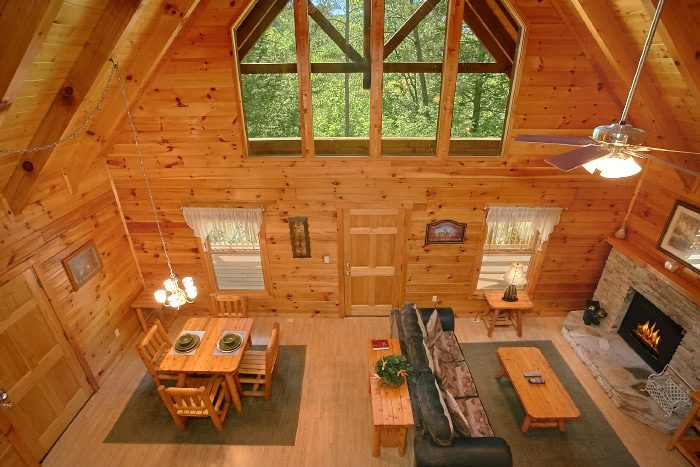 1 Bedroom Honeymoon Cabin Fully Furnished - Knotty and Nice