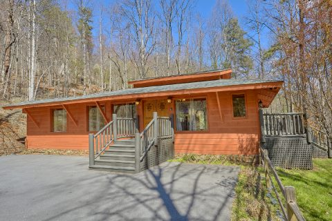 Pleanty of Flat Parking Gatlinburg Cabin - La Dolce Vita