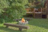 Rustic 3 bedroom cabin with outdoor fire pit