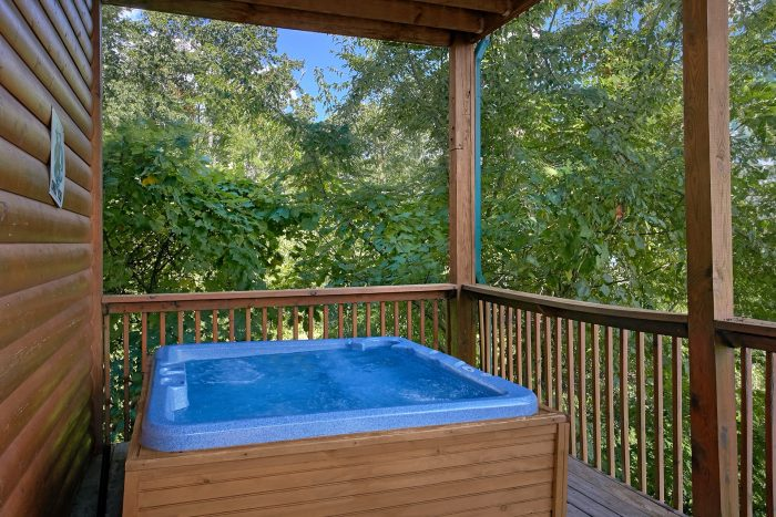 Secluded Cabin with Private Hot Tub and Views - Lasting Impression