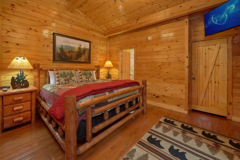 4 Bedroom Gatlinburg rental with 2 king beds - Laurel Manor