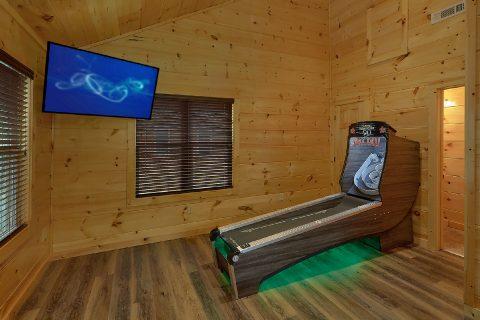 2 bedroom cabin with Skee Ball and Pool table - Laurel Splash