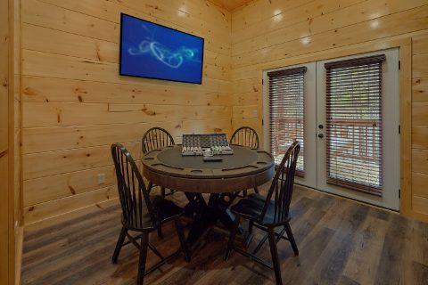 2 bedroom cabin with poker table game room - Laurel Splash