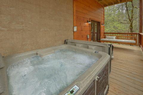 2 bedroom cabin with hot tub and indoor pool - Laurel Splash