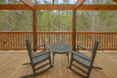 2 bedroom luxury cabin with 3 covered decks