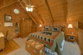 Loft King bedroom 1 Bedroom Cabin