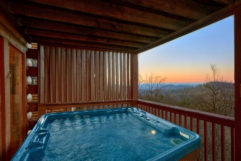 2 Bedroom 2 Bath Private Hot Tub with Views - Lazy View Lodge