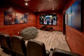 Theater Room Beautiful 5 Bedroom Cabin Sleeps 14