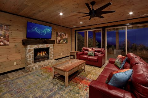 Extra Seating in Game Room 5 Bedroom - LeConte Views