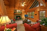 Fully Furnished Living Room in Cabin