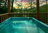 Hot Tub with Wooded Views