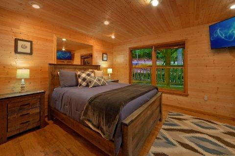 2 bedroom cabin with Private Queen bedroom - Little Wren
