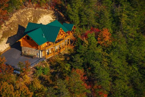 Luxurious Cabin with View of the Smoky Mountains - Lodge Mahal