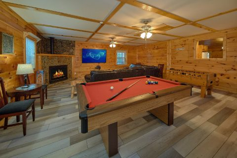 3 bedroom Cabin with Game Room and Pool Table - LoneStar