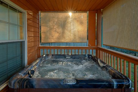 Rustic 3 bedroom cabin with private Hot Tub - LoneStar