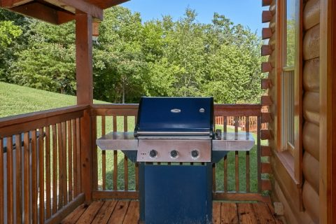 2 Bedroom Cabin with Hot Tub and Grill - Lookin Up