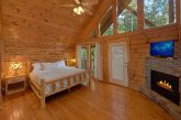 Master Suite with Fireplace and Jacuzzi Tub