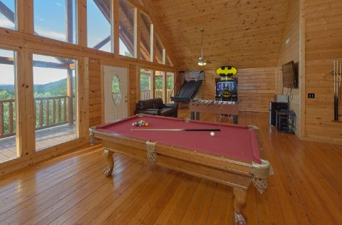 6 Bedroom Cabin With Large Game Room - Lookout Lodge