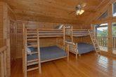 6 Bedroom 7.5 Bath Cabin Sleeps 22