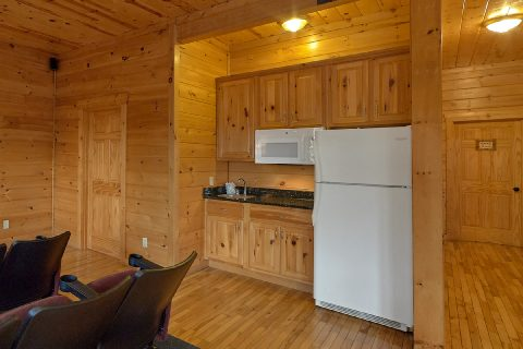 Theater Room and Game Room Wet Bar - Lookout Lodge