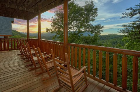 Rocking Chairs with a View 6 Bedroom Cabin - Lookout Lodge