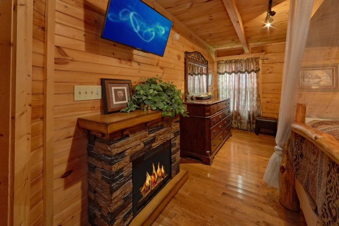 Fireplace in MAsster Suite - Love Without End