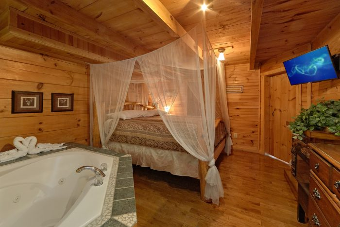 2 Person Jacuzzi Tub in Master Suite - Love Without End