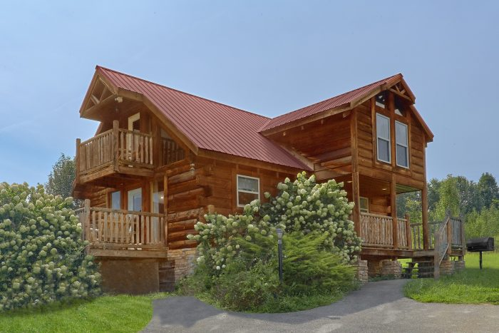 Mountain Views 1 Bedroom Cabin Sleeps 4 - Love Without End