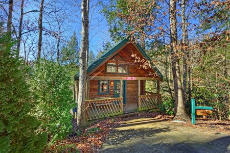 Ruby's Cliffside: 1 Bedroom Sevierville Vacation Home Rental