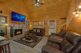 Pigeon Forge 2 Bedroom Cabin with Gas Fireplace