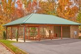 2 bedroom cabin with park picnic area