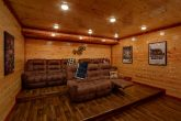 Large Cabin with Theater Room Sleeps 17