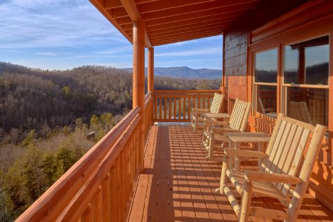 Pigeon Forge Cabin with Indoor Pool and View - Majestic Mountain Splash