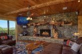 Luxurious living room in 5 bedroom cabin