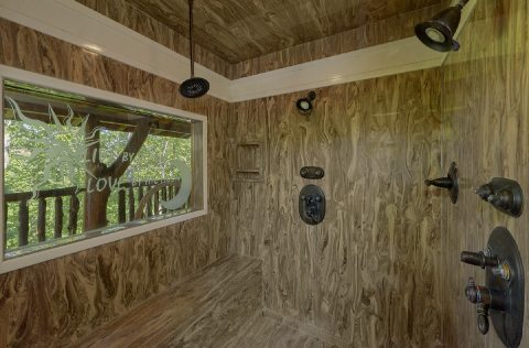 Luxurious Oversize shower in Master bathroom - Majestic Peace