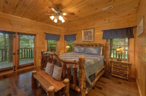 Premium cabin with private King bedroom - Majestic Peace