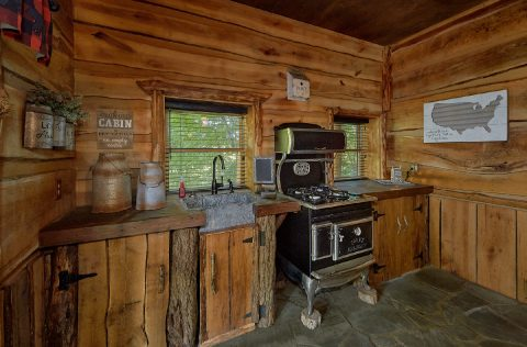 Luxurious 5 bedroom cabin with 2 full Kitchens - Majestic Peace