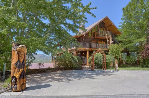 5 bedroom Luxury Cabin with flat parking - Majestic Peace