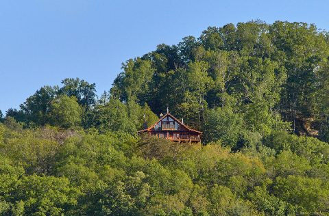 Majestic Peace cabin overlooking the mountains - Majestic Peace
