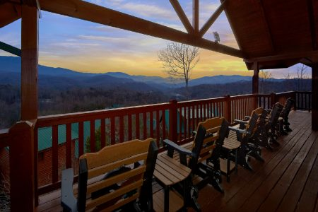 A View For All Seasons: 5 Bedroom Sevierville Cabin Rental