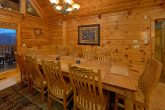 5 Bedroom cabin with Dining Room for 14