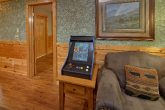 Luxury Gatlinburg Cabin with 2 Arcade Games