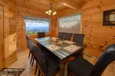 Spacious 4 Bedroom Cabin with Large Dining Area